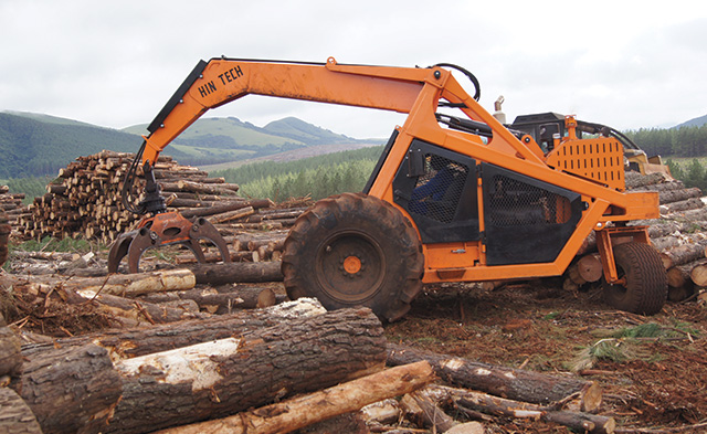 Tri wheeler logger